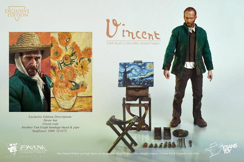 【EsansToy x Zenpunk】EZ-01EX Vincent Willem van Gogh Exclusive Edition フィンセント・ファン・ゴッホ EX版