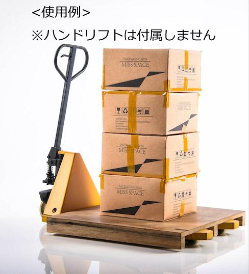 【FIVE TOYS】F2001E forklift accessory 1/6スケール 木製パレット&ダンボール箱
