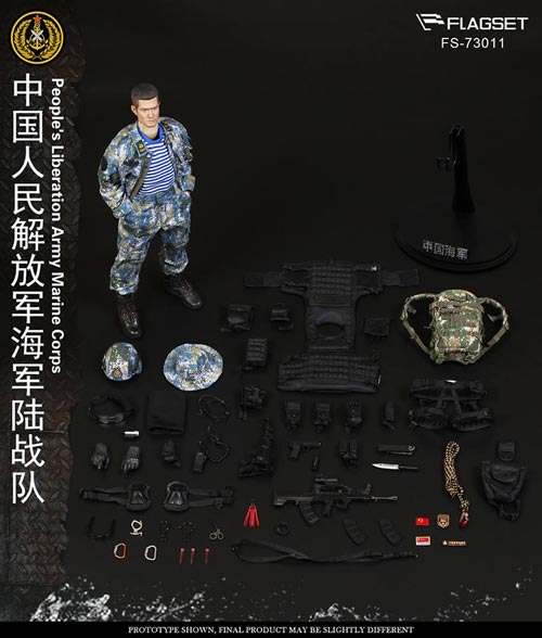 【FLAGSET】FS-73011 People's Liberation Army Marine Corps 中国人民解放軍 海軍陸戦隊 1/6スケール男性フィギュア