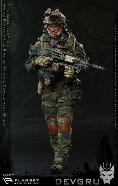 【FLAGSET】FS-73020 DEVGRU jungle dagger action デブグル アメリカ海軍特殊戦開発グループ