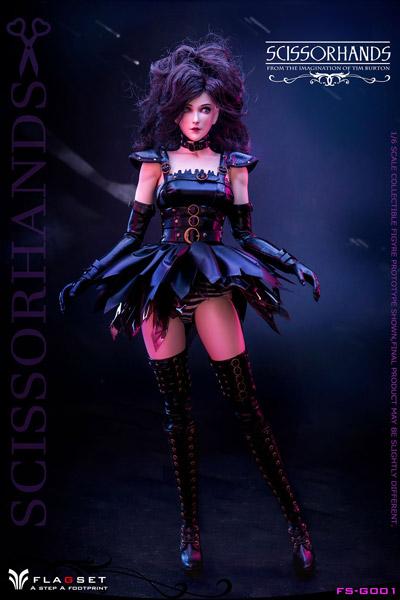 【FLAGSET】FS-G001 Scissorhands Girl 鋏手女子 1/6スケール女性ドールフィギュア