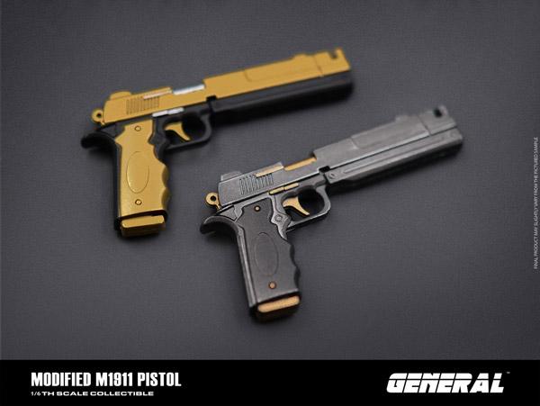 【GENERAL】GA-006 1/4 Modified M1911 Pistol ナインティーン・イレブン 1/4スケール 自動拳銃