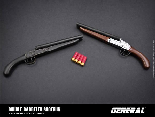 【GENERAL】GA-008 1/6 Double Barreled Shotgun ソードオフ・ショットガン 1/6スケール ショットガン