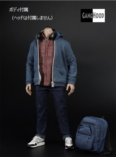 【GANGHOOD】GH005 1/6 teen 2.0 New version of bugs Campus casual wear suit with body (without headsculpture)