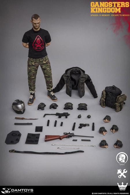 【DAM】GK003MX Gangsters Kingdom SPADES J'S MEMORY-GREG グレッグ