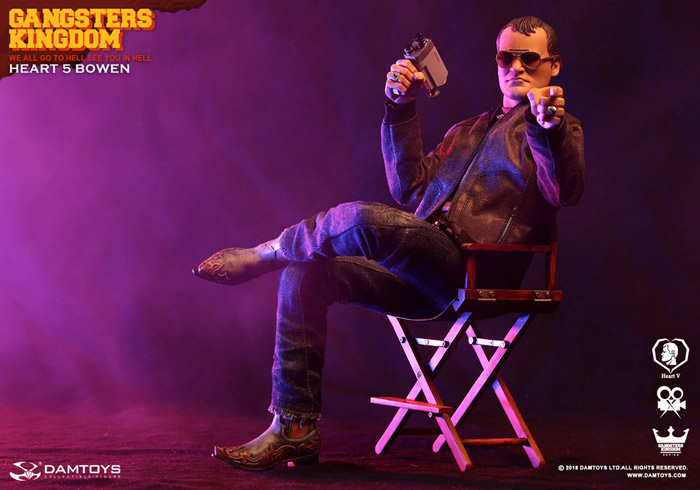 【DAM】GK016 Gangsters Kingdom Heart5 Bowen ボーエン 1/6スケールフィギュア