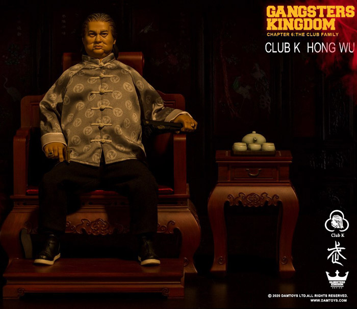 【DAM】GK020 Gangsters Kingdom Club K Hong Wu ホン・ウー 1/6スケールフィギュア