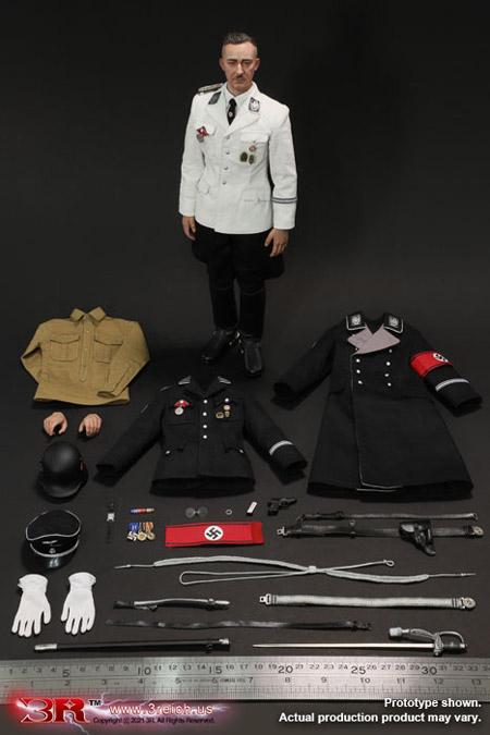 【3R】GM645 Heinrich Himmler WW2ドイツ軍 ナチス親衛隊 親衛隊全国指導者 ハインリヒ・ヒムラー