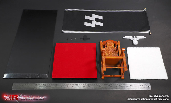 【3R】GM648 WW2 German Chair Diorama ドイツ軍 チェア 椅子 ジオラマセット