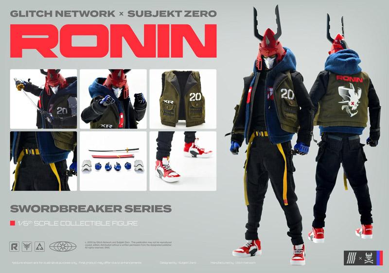 【Glitch Network x Subjekt Zero】Swordbreaker : Ronin ソードブレーカー ローニン 1/6スケールフィギュア