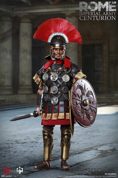 【HHmodel & HaoYuTOYS】HH18002 1/6 Imperial Army - Centurion Action Figure ローマ帝国 百人隊 隊長 1/6スケールフィギュア