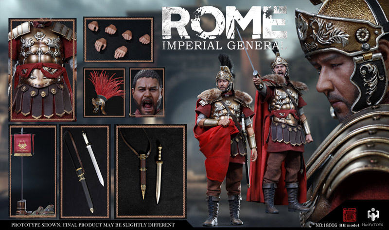 【HHmodel & HaoYuTOYS】HH18006 1/6 Imperial Army - Imperial General (Deluxe Edition) ローマ帝国 将軍 1/6スケールフィギュア