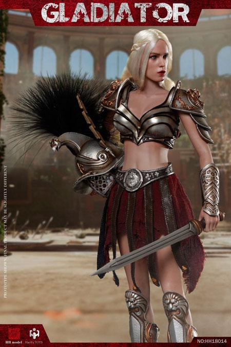 【HHmodel & HaoYuTOYS】HH18014 1/6 Gladiator Female Warrior 女性戦士 グラディエーター 1/6スケール女性フィギュア