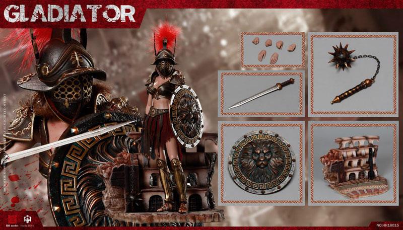 【HHmodel & HaoYuTOYS】HH18015 1/6 Gladiator Female Warrior 女性戦士 グラディエーター 1/6スケール女性フィギュア