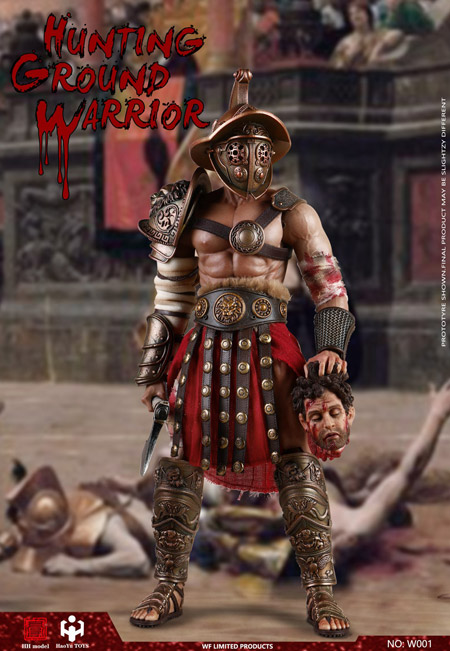 【HHmodel & HaoYuTOYS】W001 1/6 Hunting Ground Warrior (Shanghai WF2020 Limited Edition) 男性戦士 グラディエーター