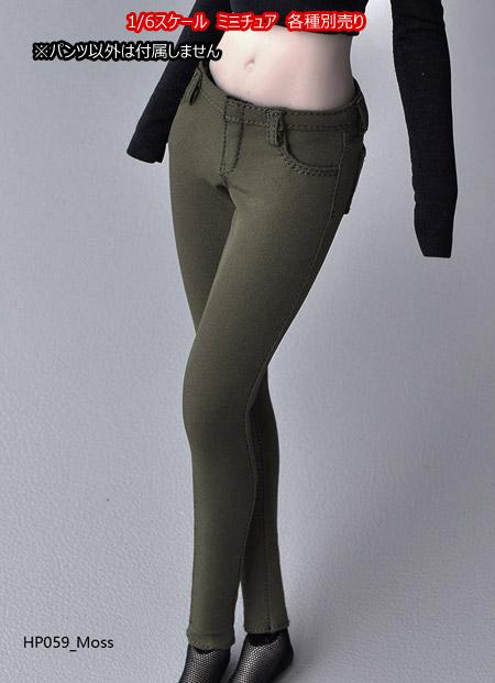 【HotPlus】HP059 ABCD Skinny Pants 女性ドール用スキニーパンツ 1/6スケール 女性コスチューム