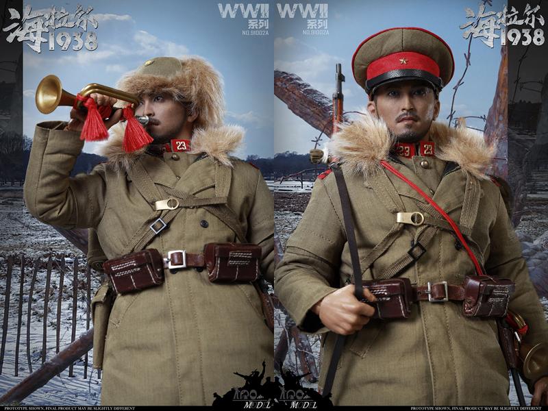 【IQO MODEL】91002A 1/6 WW2 1938 Battle of Hailar Patrol 大日本帝国陸軍 関東軍 ハイラルの戦い スタンダード版