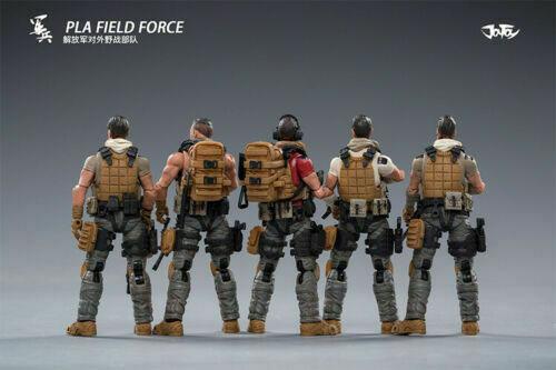 【JOYTOY】1/18 PLA Field Forces 中国人民解放軍 対外野戦部隊 5体セット 1/18スケールフィギュア 81911052