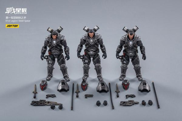 【JOYTOY】JT0869 1/18 01st Legion-Steel Spear バトル フォー ザ スターズ 第1軍団 スチール・スピア 3体セット