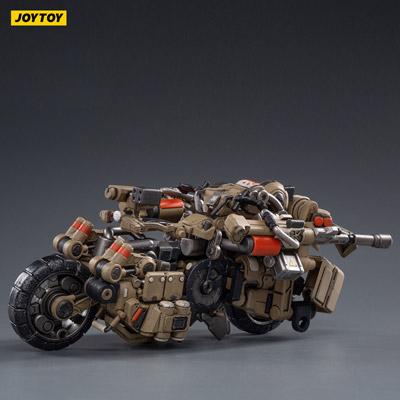 【JOYTOY】JT1019 1/18 X-HH02 Hurricane-Heavy Firepower Dual Mode Mecha (Sand)