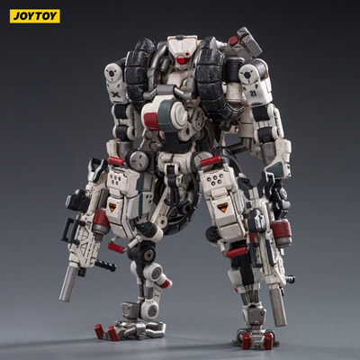 【JOYTOY】JT1026 1/18 X-HLA01 Hurricane-Light Assault Dual Mode Mecha (White)