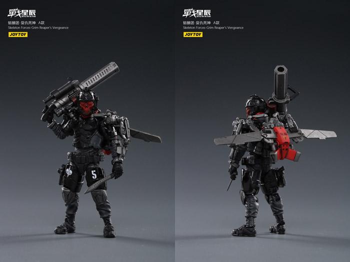【JOYTOY】JT1132 , JT1149 or JT1156 1/18 Skeleton Forces-Grim Reaper's Vengeance A B C