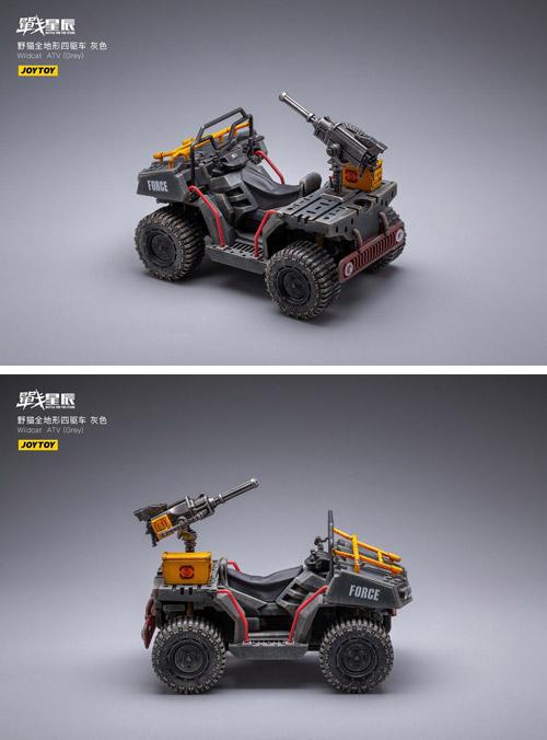 【JOYTOY】JT1392 or JT1217 1/18 Wildcat ATV 野猫全地形四駆車 1/18スケール 全地形型車両 四輪バギー