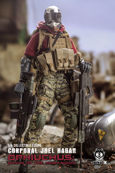【JackalX】JX003 1/6 Corporal Joel Hagan  (Normal Version) ジョエル・ヘイガン伍長 ノーマル版
