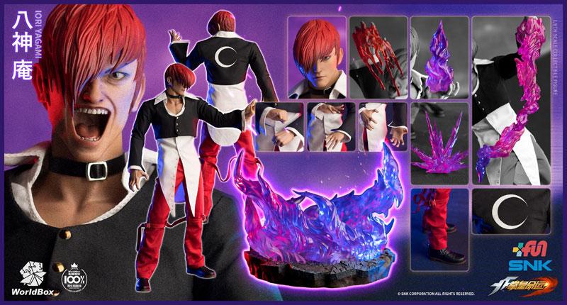 【WorldBox】KF100 1/6 SNK The King Of Fighters KOF Iori Yagami ザ・キング・オブ・ファイターズ 八神 庵 1/6スケールフィギュア
