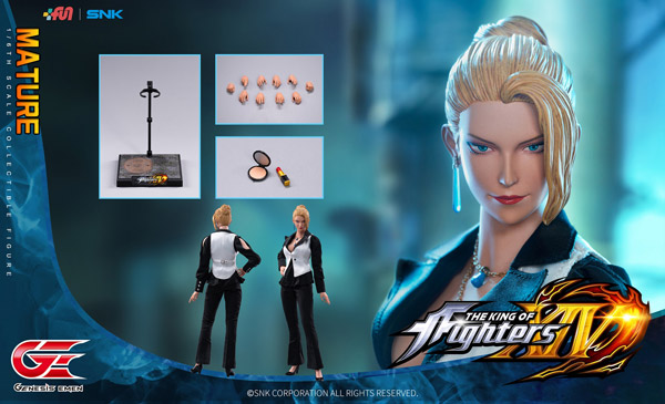 【Genesis Emen】KOF14-MT01 1/6 The King Of Fighters XIV Mature 拳皇 ザ・キング・オブ・ファイターズ マチュア