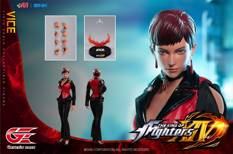 【Genesis Emen】KOF14 1/6 The King Of Fighters XIV VICE 拳皇 ザ・キング・オブ・ファイターズ バイス