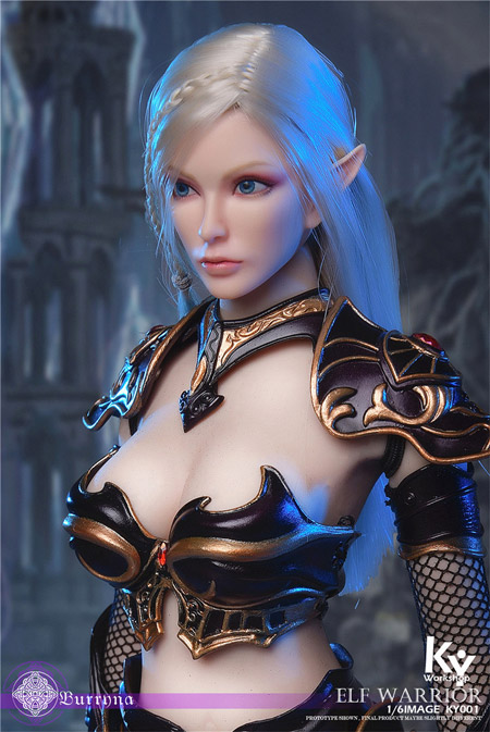 【KYStudio】KY001-B 1/6 Standard Edition Elf Female Soldier Burryna エルフ ソルジャー 精霊女戦士 ブリーナ 通常