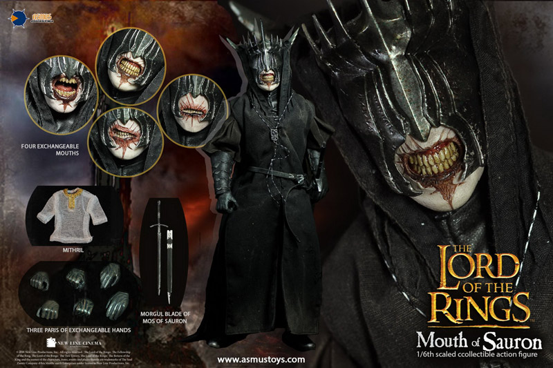 【ASMUS TOYS】LOTR009s The Lord of the Rings The MOUTH OF SAURON 『ロード・オブ・ザ・リング』 サウロンの口 1/6スケールフィギュア