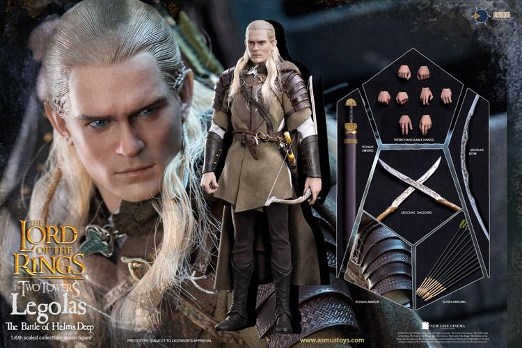 【ASMUS TOYS】LOTR029 The Lord of the Rings Legolas 『ロード・オブ・ザ・リング/二つの塔』 レゴラス 1/6スケールフィギュア