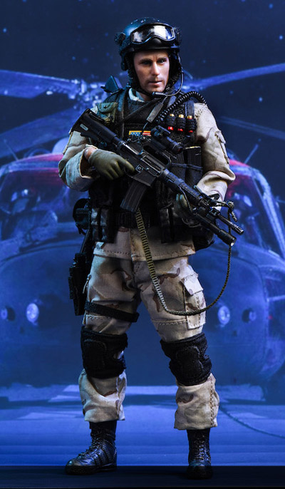 """【crazyfigure】LW002 1/12 US Miliary Special Force – (ASOC) Army Special Operations Command """"Operation Gothic Serpent"""""""