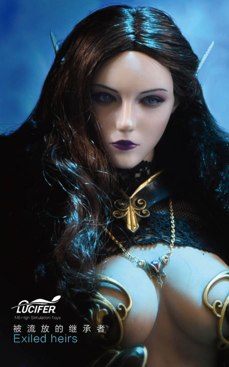 【Lucifer】LXF2005 3rd Anniversary Elves Dark Night Exiled Heirs Demon エルフ ダークナイト 追放相続者
