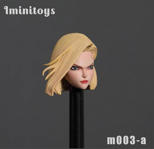 【Iminitoys】M003-A 1/6スケール 女性ヘッド