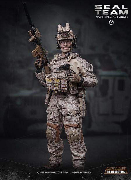 【MiniTimesToys】MT-M012 1/6 Seal Team Navy Special Forces アメリカ海軍 ネイビーシールズ 1/6スケールフィギュア