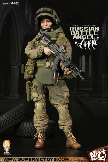 【SUPERMC TOYS XFacepoolfigure】M-082 1/6 Russian battle angel —Анна ロシア軍女性兵士 バトルエンジェル ANNA アナ