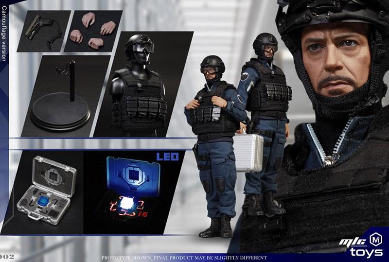 【MICTOYS】MIC002 1/6 stealth uniform undercover figure 潜入者 1/6スケール男性フィギュア