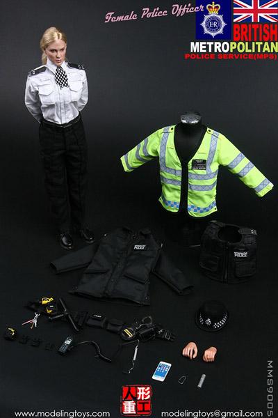 【MODELING TOYS】MMS9005 1/6 MPS イギリス ロンドン警察 女性警官 1/6スケール女性フィギュア