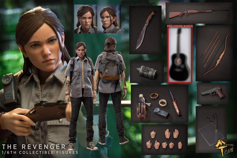 【MTTOYS】The Revenger Girl Ellie 復讐女子 1/6スケール女性ドールフィギュア
