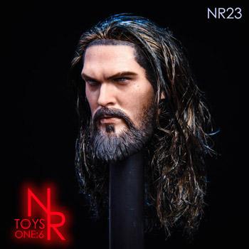 【NRTOYS】NR23 1/6スケール 植毛 男性ヘッド