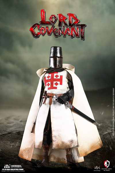 【COO】NS003 1/6 NIGHTMARE SEIRES (DIECAST ALLOY)  - LORD COVENANT ロードコヴェナント ゾンビ騎士 1/6スケールフィギュア