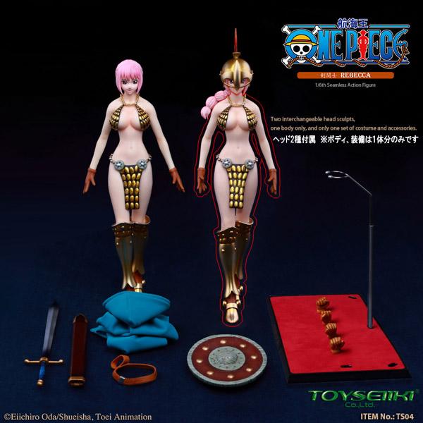 【TOYSEIIKI】TS04 ONEPIECE ワンピース 剣闘士レベッカ 1/6スケール シームレス女性ボディフィギュア