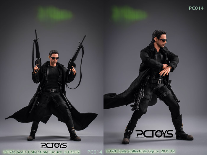 【PCTOYS】PocketCosmos PC014 1/12 The hacker killer ハッカーキラー 1/12スケールアクションフィギュア