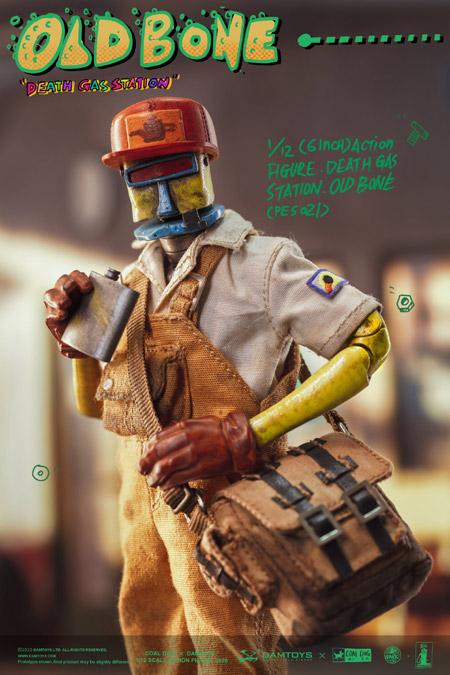 【DAM】DAMTOYS x COALDOG PES021 1/12 OLD BONE - Death Gas Station series