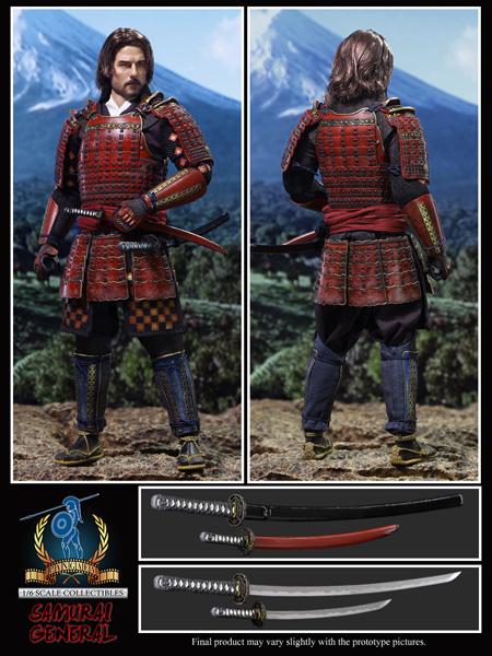 【Pangaea】PG061/6 Samurai General 侍大将 1/6スケール 男性フィギュア