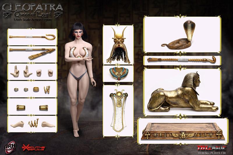 【TBLeague】PL2019-138 Cleopatra Queen of Egypt クレオパトラ 1/6スケール シームレス女性ボディフィギュア