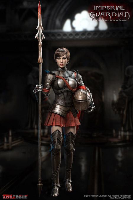 【TBLeague】TBリーグ PL2019-160 1/6 Imperial Guardian インペリアル・ガーディアン 女性槍兵